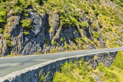 Rocky Road in Pyrenees Mountains Royalty Free Stock Image