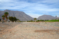 Rocky road in Taba, Egypt Stock Photography