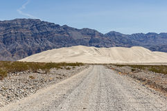 Rocky Road To Dunes Stock Images