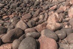 Rocky Rock Boulders Beach Coastline imagen de archivo libre de regalías