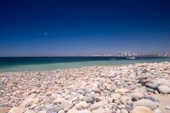 Rocky Rosita Beach in Centro PV royalty-vrije stock afbeeldingen