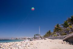 Rocky Rosita Beach in Centro PV royalty-vrije stock foto