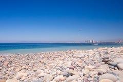 Rocky Rosita Beach dans Centro picovolte photos stock