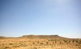 Rocky Sahara desert Stock Images
