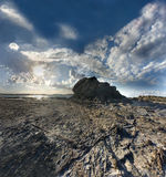 Rocky scape Royalty Free Stock Images