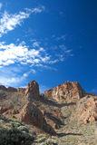 Rocky scenery near Mount Teide the volcano on Tenerife Stock Photo