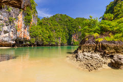 Rocky scenery of Phang Nga National Park Stock Photo