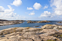 Rocky sea archipelago Royalty Free Stock Photos