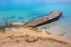 Rocky sea beach Royalty Free Stock Images