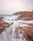 Rocky sea coast Stock Photos