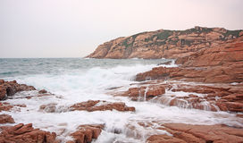 Rocky sea coast Royalty Free Stock Photo