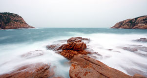 Rocky sea coast Royalty Free Stock Photography