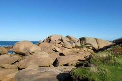Rocky sea coast rocks beautiful view stock photos