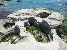 Rocky sea coast. royalty free stock photos