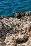 Rocky sea shore Royalty Free Stock Photography
