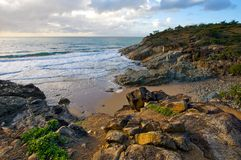 Rocky coastline Royalty Free Stock Image