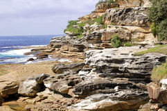 rocky seascape Fotografia Royalty Free