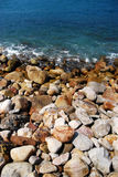 Rocky seashore Royalty Free Stock Images