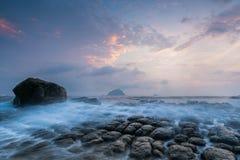 rocky seashore Fotografia Royalty Free