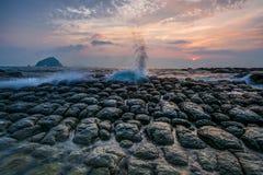 rocky seashore Fotografia Stock