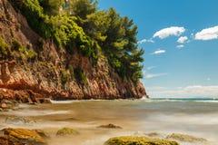 rocky seashore Zdjęcia Royalty Free