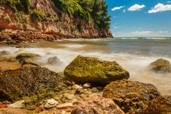 rocky seashore Zdjęcie Royalty Free