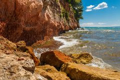 rocky seashore Zdjęcie Stock