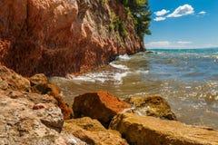 rocky seashore Obrazy Stock