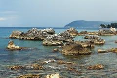 Rocky seashore Royalty Free Stock Photos