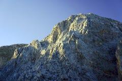 Rocky sewn in the White Mountains Stock Photo