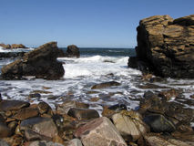 Rocky shore Stock Image