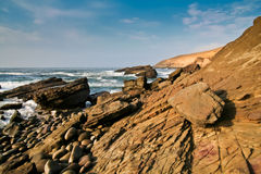 Rocky shore Stock Photos