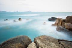 The rocky shore or beach Royalty Free Stock Photos