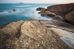 The rocky shore or beach Royalty Free Stock Image