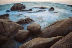 The rocky shore or beach Stock Photos