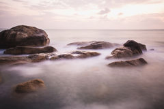 The rocky shore or beach Stock Photography