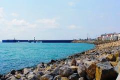 Rocky shore Stock Image