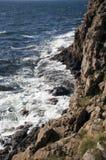 Rocky shore. Bornholm, Denmark. Stock Photo