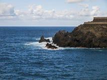 Rocky Shore - Canary Islands Royalty Free Stock Image