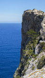 Rocky shore of Cap Formentor Stock Photography