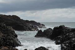 Rocky shore Stock Photography