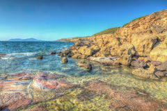 Rocky shore Royalty Free Stock Photo