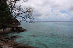 Desert beach tropical island Stock Photo