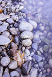 Rocky shore of the lake Royalty Free Stock Images