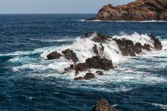 Rocky shore. Stock Photos