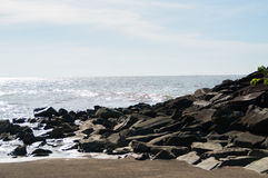 Rocky Shore Royalty Free Stock Photos