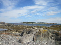 Rocky Shore 2 Stock Images