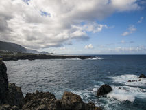 Rocky Shore - Tenerife Royalty Free Stock Images