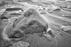 Rocky shore. Royalty Free Stock Photography