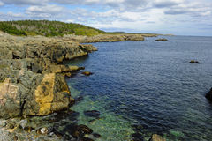 Rocky Shoreline Stock Photography